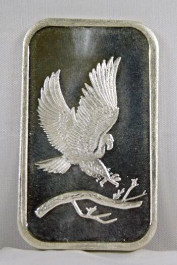 Eagle .999 Fine Silver 1 Oz. Bar