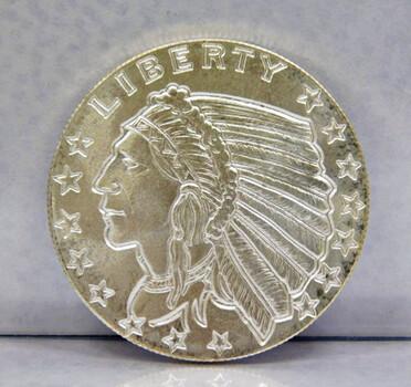 Golden State Mint 1/2oz .999 Silver Bullion Round