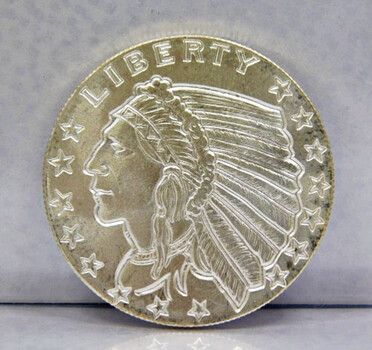 Golden State Mint 1/2oz .999 Silver Coin