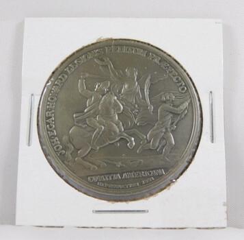 """John Howard Pewter Medal - 1.5"""" in Diameter"""