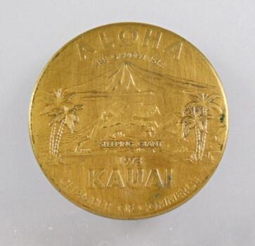 Kauai Dollar Hawaii Medal