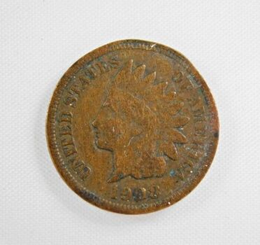 KEY DATE*1908-S Indian Head Cent