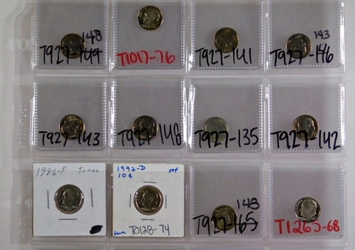 Lot of 20 Roosevelt Dimes*High Grade and Proof