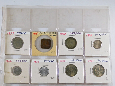 Lot of Sixteen (16) World Coins - At Least 7 Countries Represented