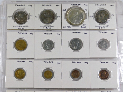 Lot of Twenty (20) World Coins - At Least 4 Countries Represented - Most Coins in Unc. Condition