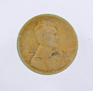 MINT ERROR - 1920 Lincoln Wheat Cent - Lamination Error