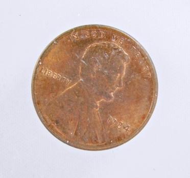MINT ERROR - 1984 Lincoln Memorial Cent - Cud Error on Rim