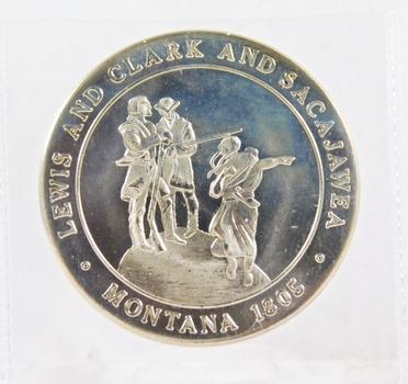 Montana Territorial Centennial*Lewis and Clark and Sacajawea