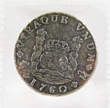 Pirate-Pillar Dollar*Charles III*Replica