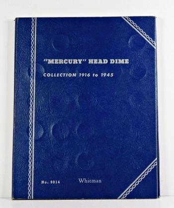 Pre-owned Mercury Head Dime Album 1916-1945*Good Condition