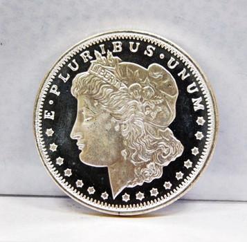 Replica Morgan Dollar 1/2oz .999 Fine Silver