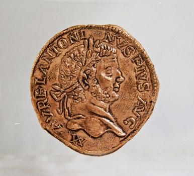 Roman Caracalla-Sestertius*Emperor 198-217*Replica