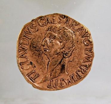 Roman Claudius*AD 41-54-Replica