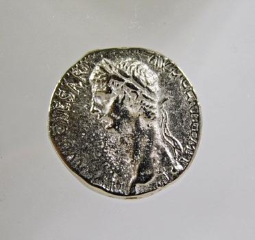 Roman Claudius*AD 41-54-Replica*Silver Didrachma Cappadocia AD 41-52*Replica