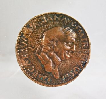 Sestertius of Vespasian Roman*72 AD*Replica