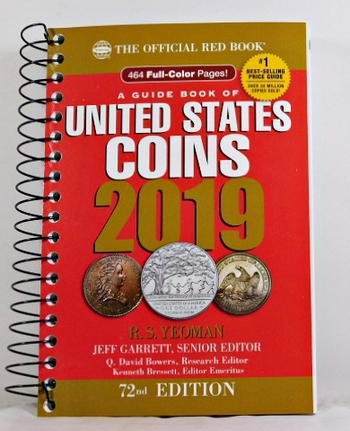 The Official Red Book*Guide Book of United States Coins 2019*New/Unused
