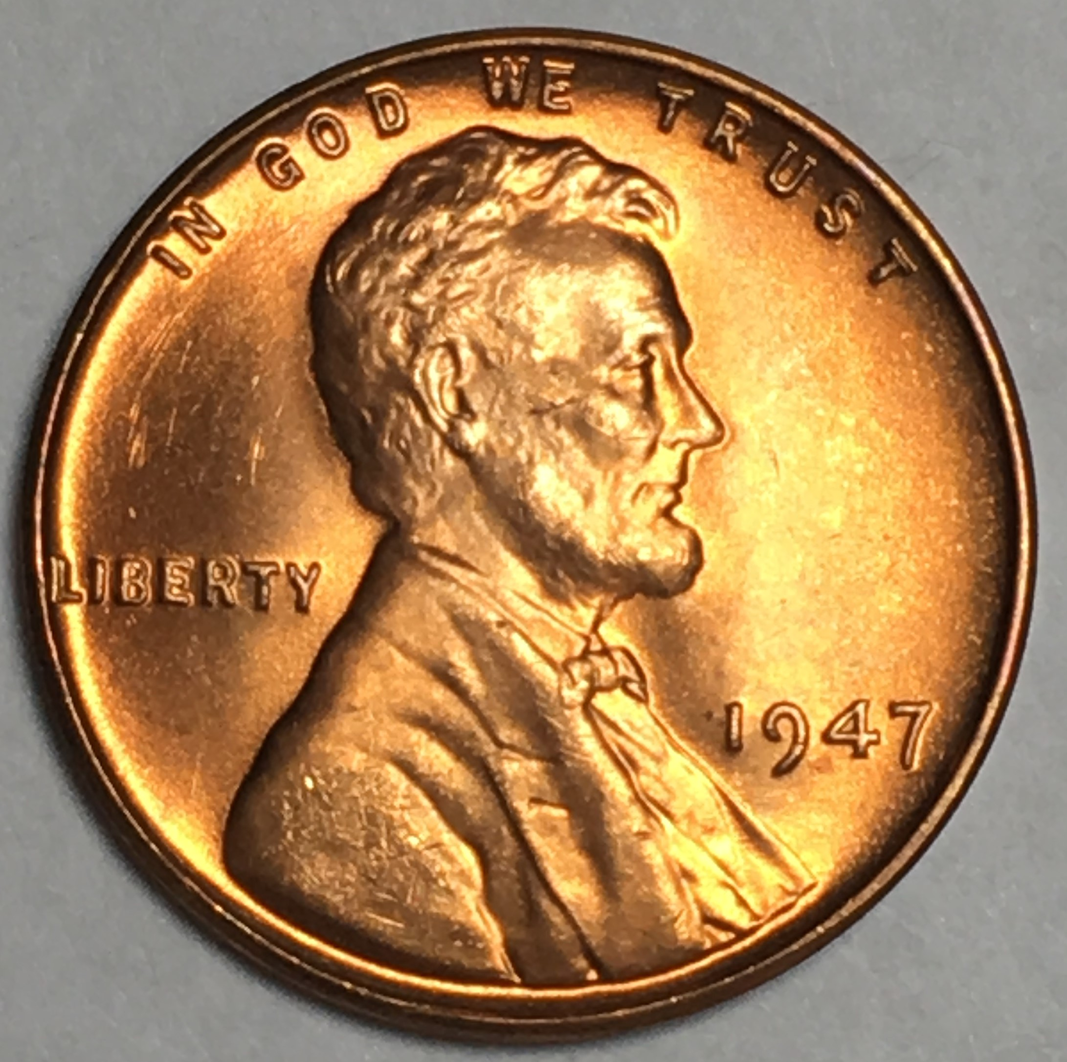 Roll Of 1947-S Lincoln Wheats Circulated