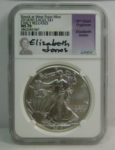 Early Releases NGC PF70 UCAM 2014-W American Silver Eagle Proof