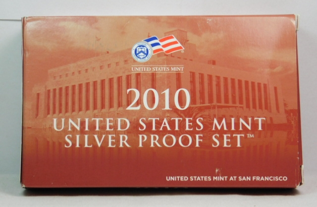 2010 United States Silver Proof Set in Original Box 1