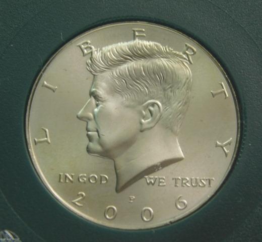 2006 P Kennedy Half Dollar Satin Finish