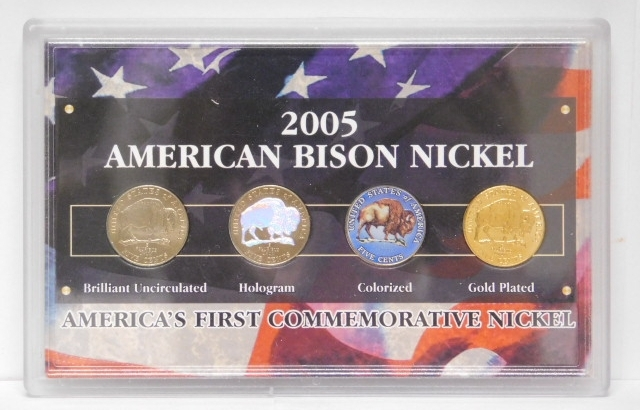 2005 American Bison Nickel Collection w/COA - America's