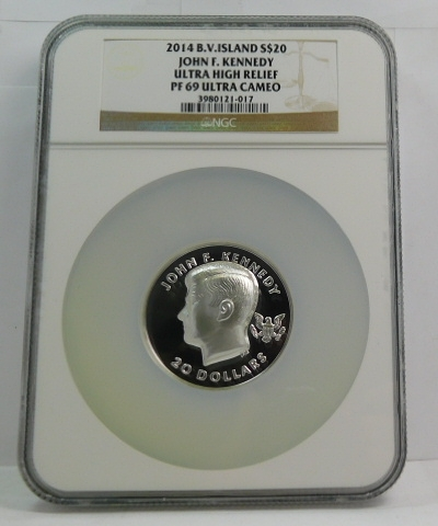 2008S Kennedy proof half dollar low combined shipping