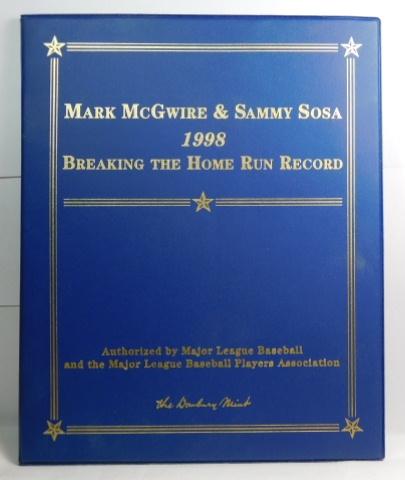1998 Mark Mcgwire Sammy Sosa Breaking The Home Run Record