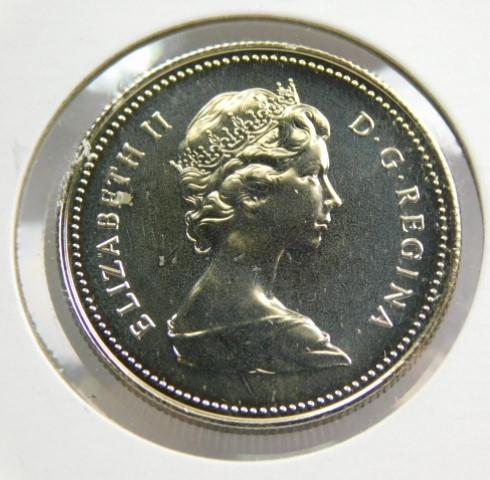 1980 CANADA 50 CENTS PROOF-LIKE HALF DOLLAR COIN