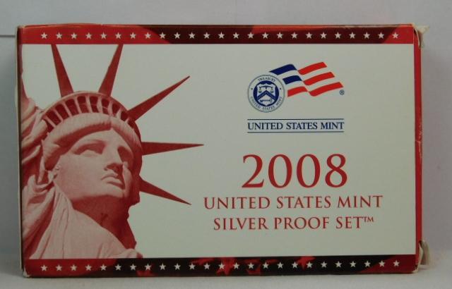1 2008 United States Proof Set in Original Box