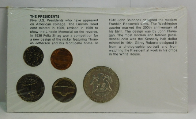 The Americans Series - The Presidents - 1969-D Kennedy Half Dollar