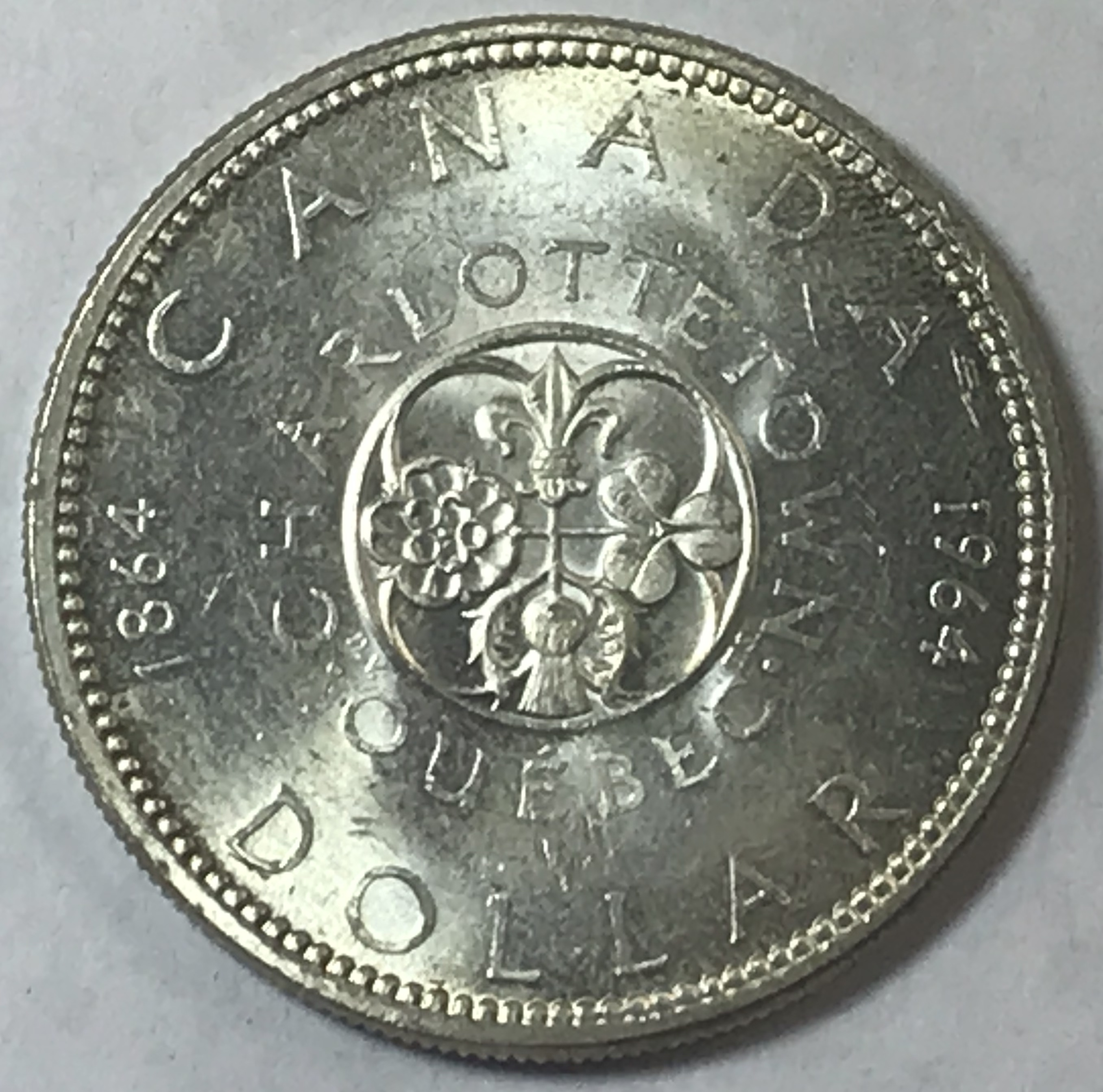 1964 Canada Proof Like Silver Dollar $1 Centennial Coin