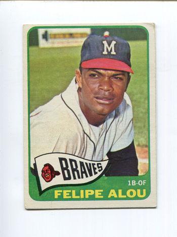 1965 Topps Felipe Alou # 383
