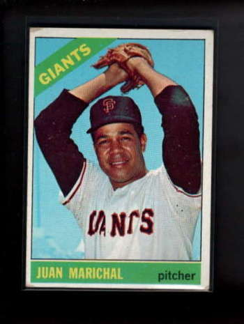 1966 Topps #420 Juan Marichal BVG 2.5