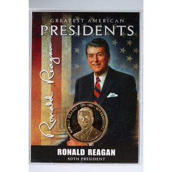 Greatest American Presidents Series Reagan Commemorative Coin American Mint