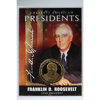 Greatest American Presidents Series Roosevelt Commemorative Coin American Mint