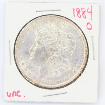 1884-O Morgan Silver Dollar (r55)