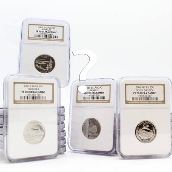 1 Randomly Selected Clad State Quarter Proof NGC PF 70 Ultra Cameo