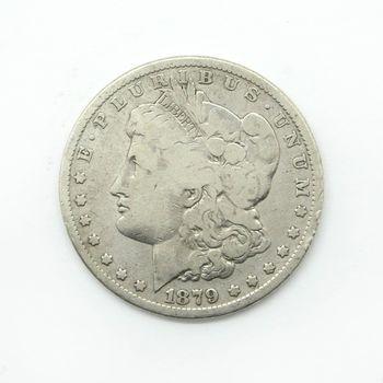 1879-P Morgan Silver Dollar VG D