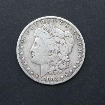 1883-P Morgan Silver Dollar VG C