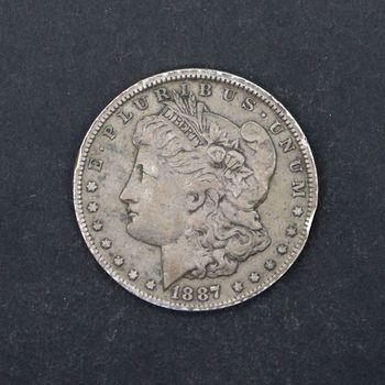1887-O Morgan Silver Dollar VG C