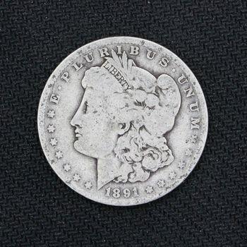 1891-O Morgan Silver Dollar Good B