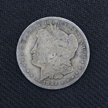 1892-O Morgan Silver Dollar Good B