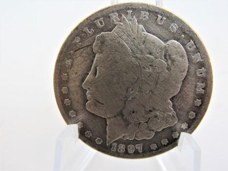 1897-O Silver Morgan Dollar (062)