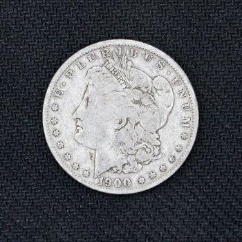 1900-O Morgan Silver Dollar VG C