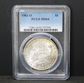 1902-O $1 Morgan PCGS MS64