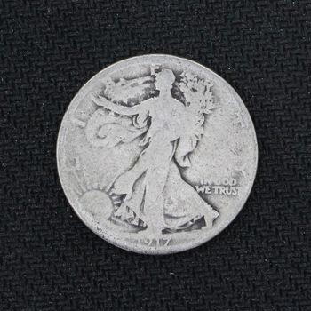 1917 Walking Liberty Half Dollar Good - 2nd Year of Issue (k)