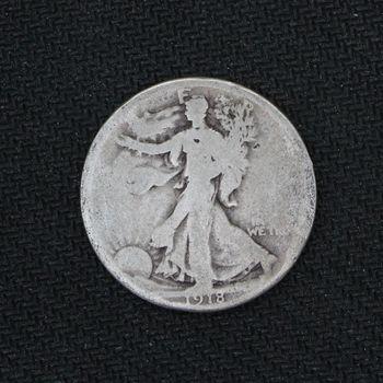 1918 Walking Liberty Silver Half Dollar Good (i)