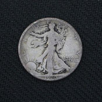 1920 Walking Liberty Silver Half Dollar VF (b)