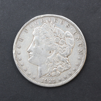 1921-P 90% Silver Morgan Dollar (051)