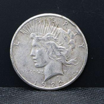 1922 $1 Peace Cull